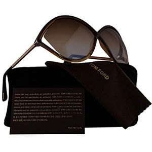 Tom Ford Sunglasses Dark Brown w/Brown Lens